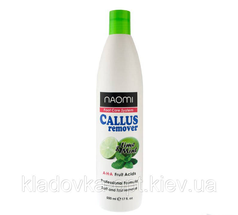 NAOMI CALLUS REMOVER. LEME&MINT 500 ml