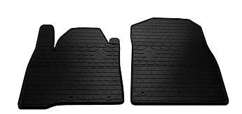 Коврики в салон резиновые передние для Lexus LX 570 2008-2014 Stingray (2шт)