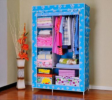 Тканевый шкаф Storage Wardrobe YQF130-14A