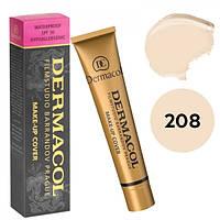 Dermacol № 208 - светлый с легким розовым оттенком