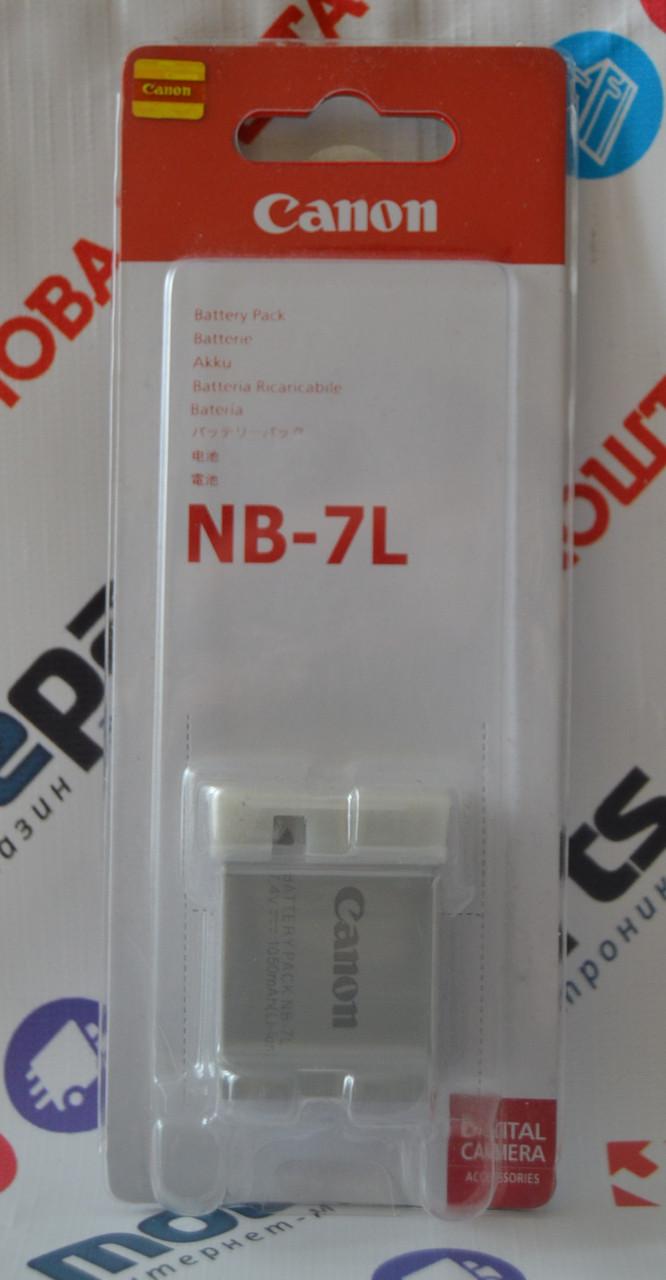 Оригинальный Аккумулятор Сanon NB-7L для PowerShot G10 | G11 | G12 | SX30 IS