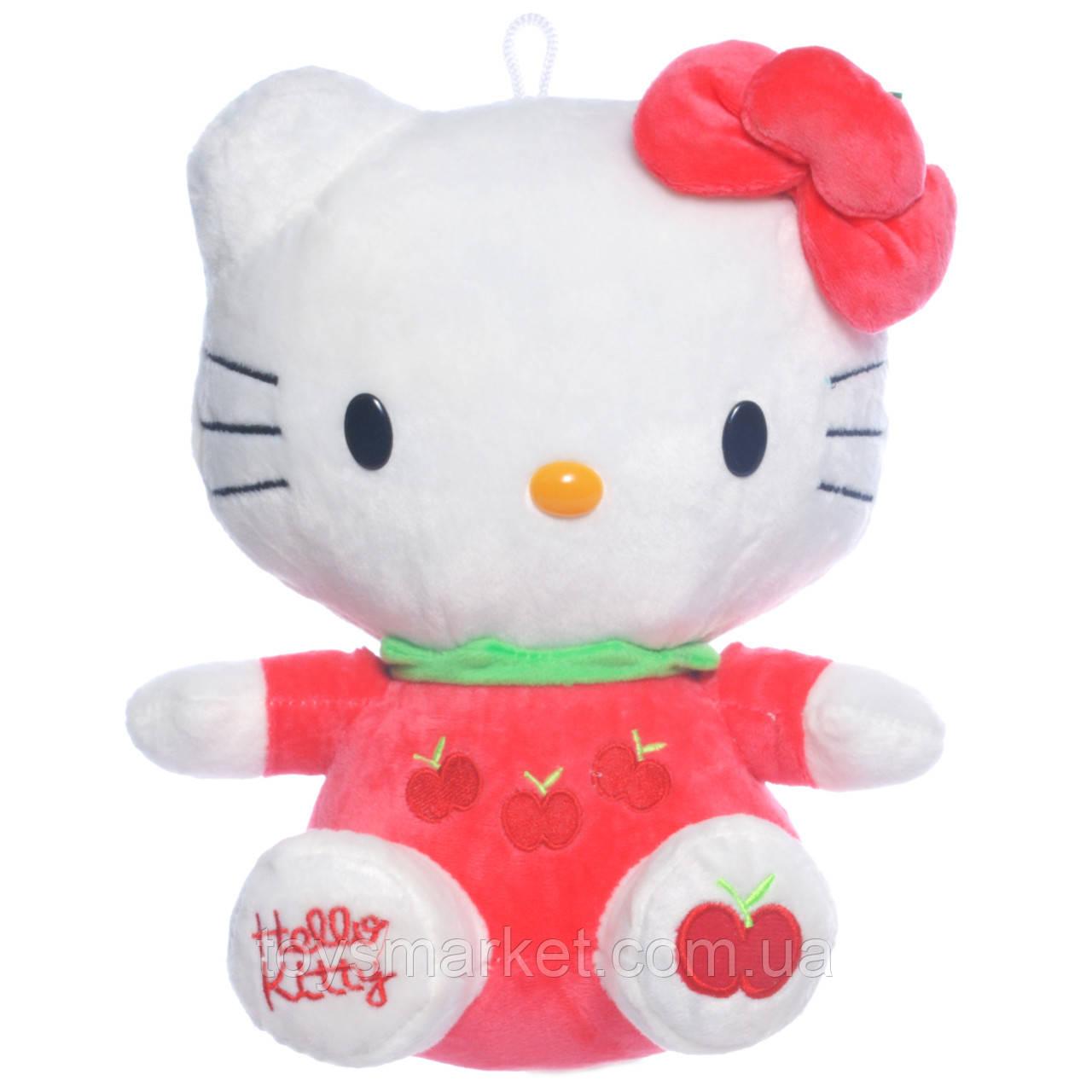 Детская подушка,котенок Китти,розовая