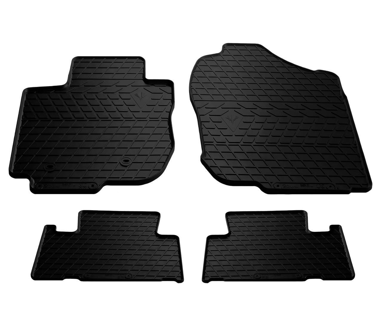 Коврики в салон резиновые для Toyota RAV4 2006-2012 Stingray (4шт)