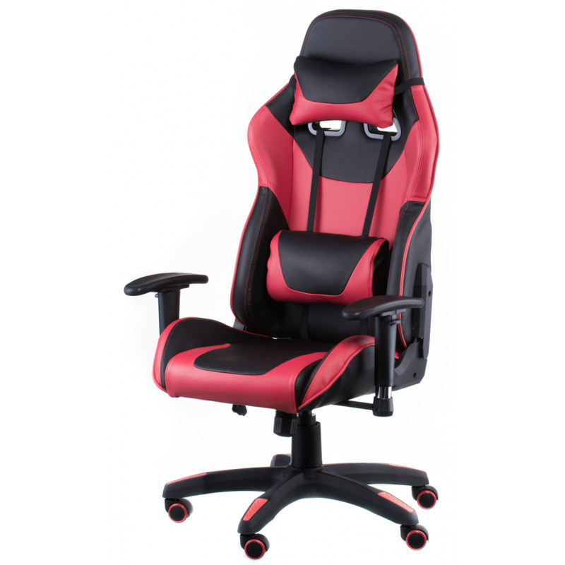 Кресло геймерское Special4You ExtremeRace black/red (Е4930)