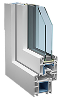 Металлопластиковое окно Veka Euroline Plus