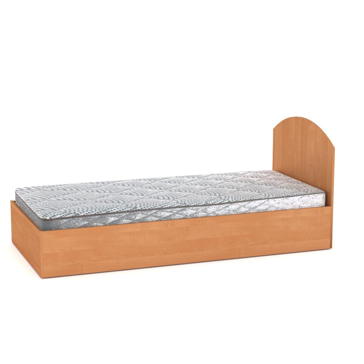 Кровать с матрасом 90 ольха Компанит (94х204х85 см)