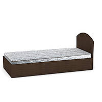 Кровать с матрасом 90 венге темный Компанит, фото 1
