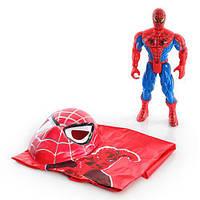 Набор супергероя Человек Паук/Spider Man: фигурка 30см, маска, плащ