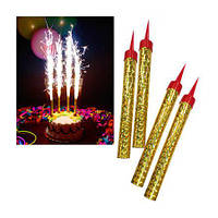Свечи Феерверк в торт, 12 см, фото 1
