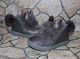 Модные ботиночки «зайцы» для девочек - 24 размер, фото 2
