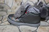 Модные ботиночки «зайцы» для девочек - 24 размер, фото 3