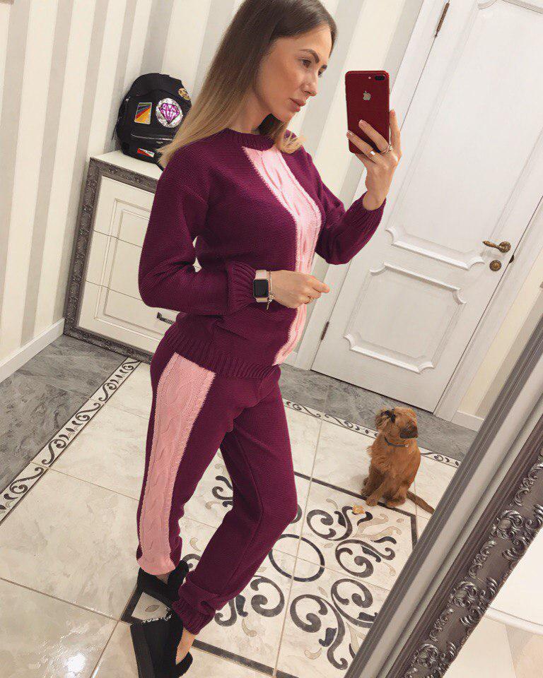 16a42d807988 Очень красивый вязаный спортивный костюм: продажа, цена в Харькове ...