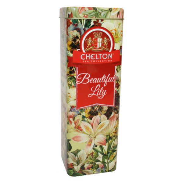 """Чай """"Chelton"""" Прекрасные Лилии, 80 г ж/б"""