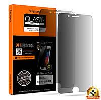 Защитное стекло Spigen анти-шпион для iPhone 7Plus (2шт)