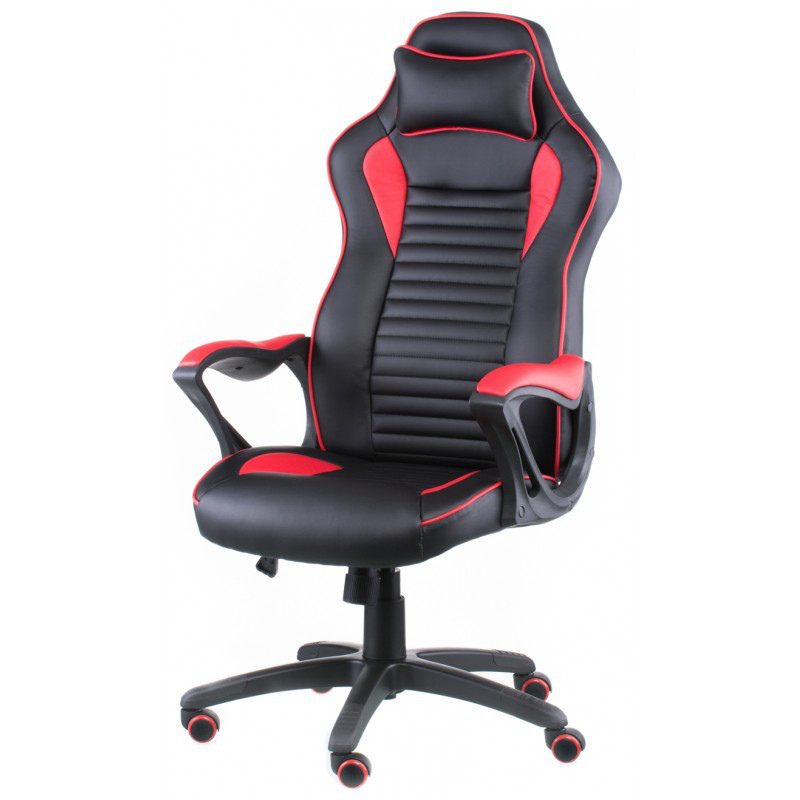 Кресло геймерское Special4You Nero Black/Red (Е4954)