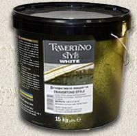 Эльф Декор Travertino style Nero, Wenge (Травертино Стайл) 15 кг на основе молотого мрамора