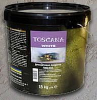 Эльф Декор ТОСКАНА WHITE (TOSCANA) натуральное известковое покрытие, эффект бетона 15кг