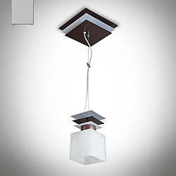 Люстра металлическая одноламповая на тросах 10801-2