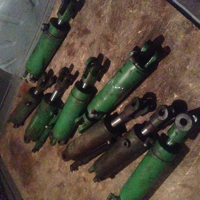 Гидравлические цилиндры прибывшие в ремонт