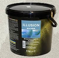 Эльф Декор Illusion гладкое декоративное покрытие с перламутровым эффектом 5кг