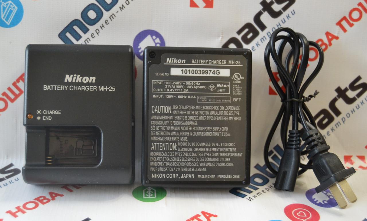 Зарядное устройство Nikon MH-25 для аккумулятора EN-EL15 D7000 D7100 D7200 D750 D600 D610 D800 D800E