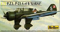 P.Z.L. P-23 A et B 'KARAS' 1/72 HELLER 80247