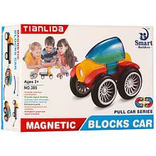 Конструктор 385 магнитный, транспорт