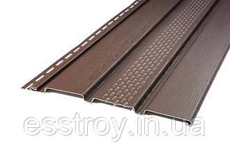 Панель соффит Т-20 коричневый с перфорацией