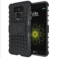 Чехол LG G6 / H870 / LS993 противоударный бампер черный