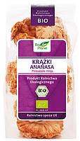 Органические ананасовые кольца сушеные, Bio Planet, 100 гр