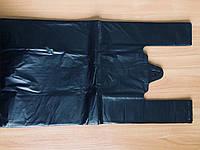 Полиэтиленовый пакет Майка №4 290*550 черный (О)