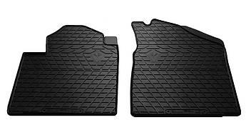 Коврики в салон резиновые передние для Toyota Venza 2008- Stingray (2шт)