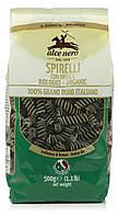 Органические макароны с крапивой spirelli, (твердая пшеница), Alce Nero, 500 гр