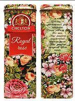 """Чай """"Chelton"""" Королевские Розы, 80 г ж/б"""