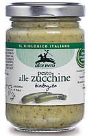 Органический соус песто с цукини, Alce Nero, 130 гр