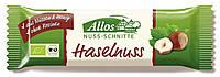 Органический батончик с лесными орехами, Allos, 30 гр
