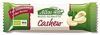 Органический батончик с орехами кешью, Allos, 30 гр