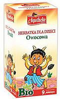 """Натуральный детский чай фруктовый, ТМ """"Apotheke"""" 20 пакет./ 1,5 гр"""
