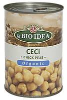 Органический нут консервированный, Bio Idea, 400 гр