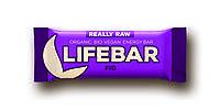 Органический батончик с инжиром, Life food, 47 гр