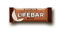 Органический батончик с бразильскими орехами, Life food, 47 гр