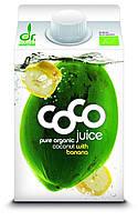 Органическая кокосовая вода с бананом и лимоном, Dr. Martins, 500 мл