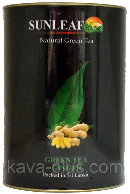 Чай зеленый Имбирь SunLeaf 75г