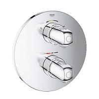 Grohtherm 1000 Термостат для ванны со встроенным переключателем на 2 полож., скрыт. монтаж,хром GROHE 19986000