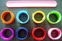 Силиконовый слеп браслет, фото 1