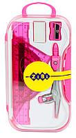 Готовальня 8 предметов, розовый zb.5316bs-10