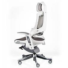 Кресло Special4You WAU CHARCOAL NETWORK WHITE (Е5319), фото 3