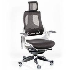 Кресло Special4You WAU CHARCOAL NETWORK WHITE (Е5319), фото 2