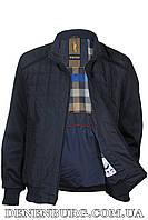 Куртка мужская демисезонная WOLVES W-853 тёмно-синяя, фото 1