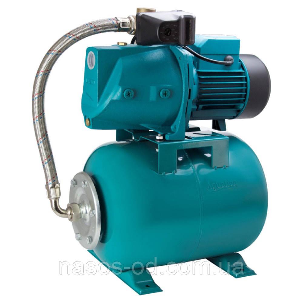 Насосная станция гидрофор Aquatica для воды 1.1кВт Hmax48м Qmax80л/мин (самовсасывающий насос) 24л
